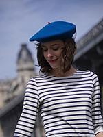 Берет LE BERET FRANCAIS арт. MODE (ярко-синий)